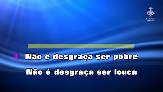 ♫ Demo - Karaoke - NÃO É DESGRAÇA SER POBRE - Amália Rodrigues