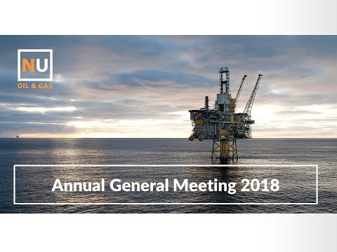 Nu-Oil - AGM Presentation 2018
