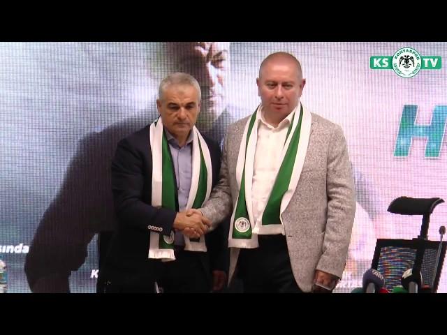 Teknik Direktör Rıza Çalımbay ile 1+1 yıllık sözleşme imzalandı