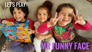 LET'S PLAY - MR FUNNY FACE | FAMILY GAME TIME