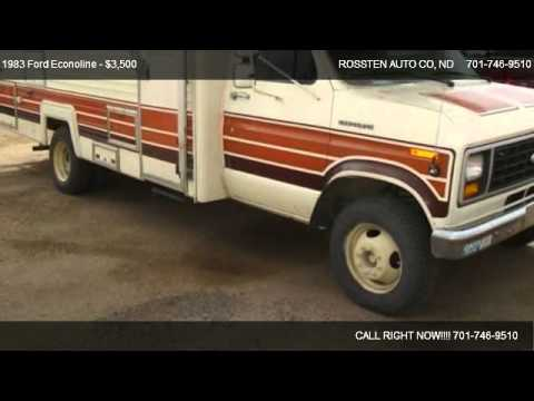 1983 Ford Econoline Coachman  for sale in GRAND FORKS, ND