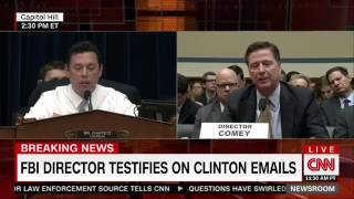 Director Comey Ducks Questions On Clinton Foundation Investigation