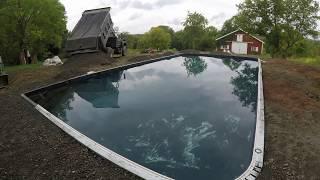 Replacing an inground pool