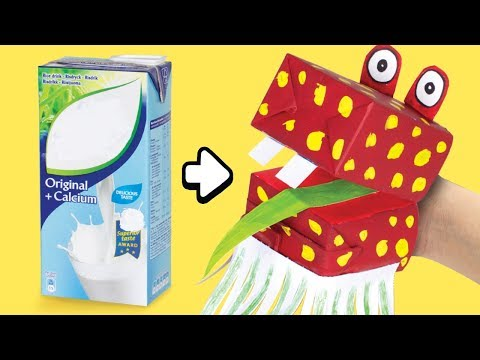 diy-hand-puppet-from-drink-carton-|-easy-&-quick-craft-ideas-for-kids