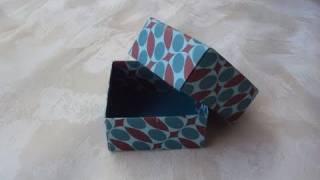 Scatoline origami (tutorial)