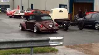 "Limebug ""The Bug Shop"" Completed build on Dougs 1303 VW Beetle Cab German Looker Porsche"