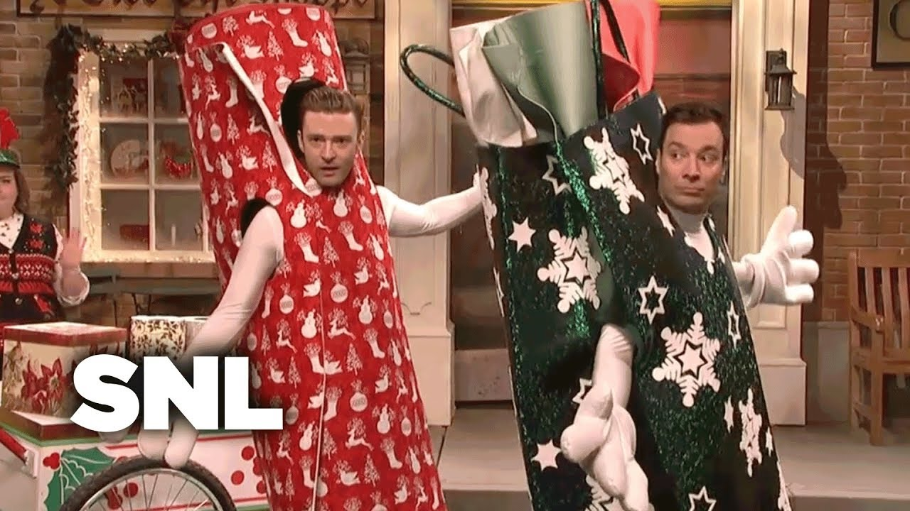 bring it on down to wrappinville snl saturday night live - Saturday Night Live Christmas Song