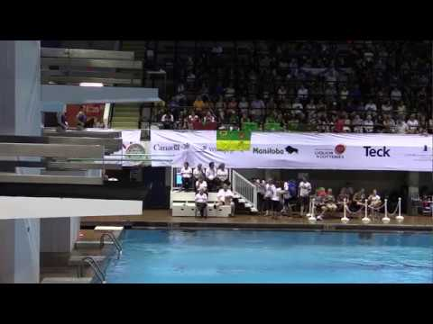 2017 Canada Summer Games - Diving Final - Women's 3M Synchronized
