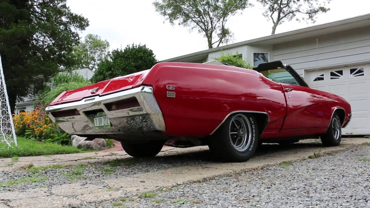 REVIEW of 1969 Buick GS Stage 1 Convertible For Sale VERY ...