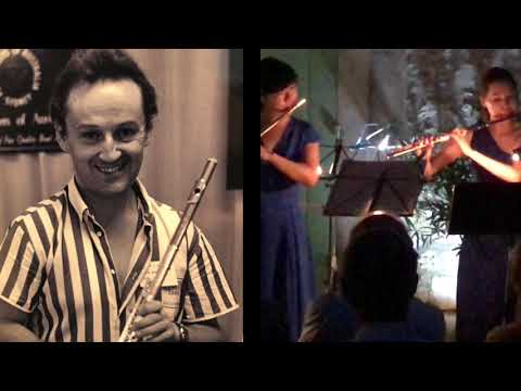 Alain Marion Flute Tribute 20 Year Commemoration. Korean Flutists &Jane Rutter 2018