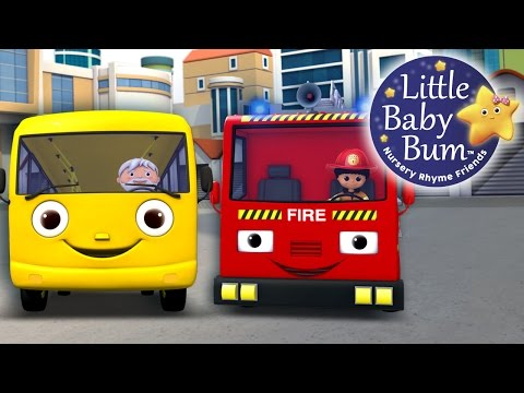 Thumbnail: Wheels On The Bus | Part 11 | Nursery Rhymes | By LittleBabyBum!!