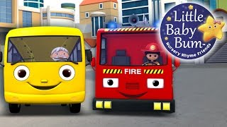 Wheels On The Bus | Part 11 | Nursery Rhymes | By LittleBabyBum