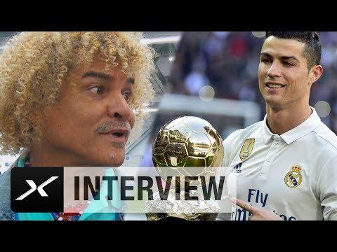 "Calros Valderrama: "" Cristiano Ronaldo geht es nicht um Geld""   Real Madrid"