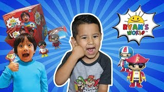 RYANS WORLD Mystery Figures SURPRISE TOYS OPENING, Ryan Toys Review toys