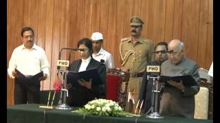Swearing ceremony of High court Chief Justice Manjula chelloor