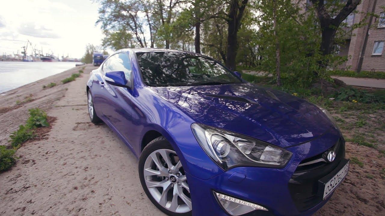 Реклама автомобиля Hyundai Genesis Coupe: драйв в пустыне - YouTube