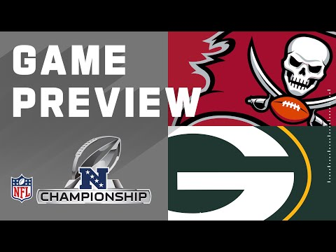 Tampa Bay Buccaneers vs. Green Bay Packers  | NFL 2021 Conference Championship Preview