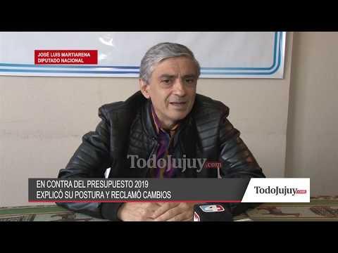 Martiarena: El Presupuesto y el acuerdo con el FMI son desventajosos para el país