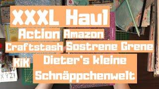 XXXL Haul // Action, KiK, Sostrene Grene, Amazon, Dieter's Kleine Schnäppchenwelt, craftstash