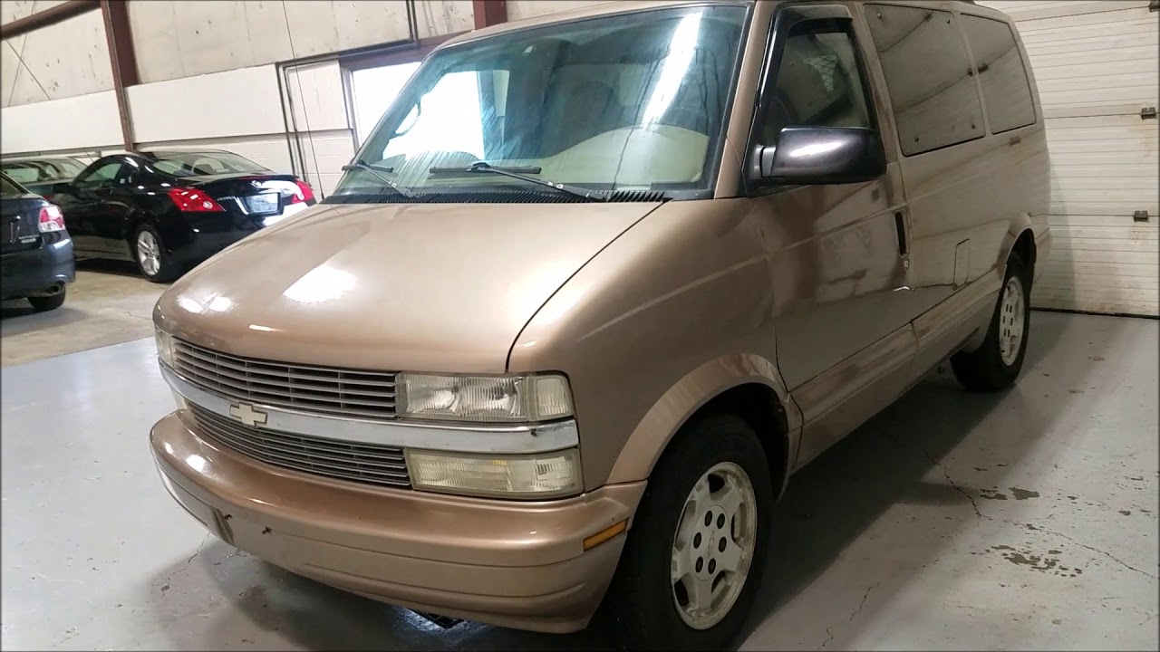 2005 Chevrolet Astro Van Chevy Astro Van Awd Passenger Van