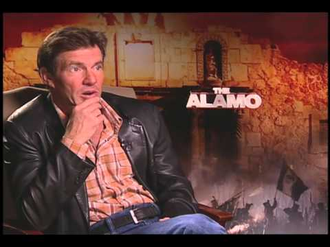 Dennis Quaid talks with Jimmy Carter about The Alamo