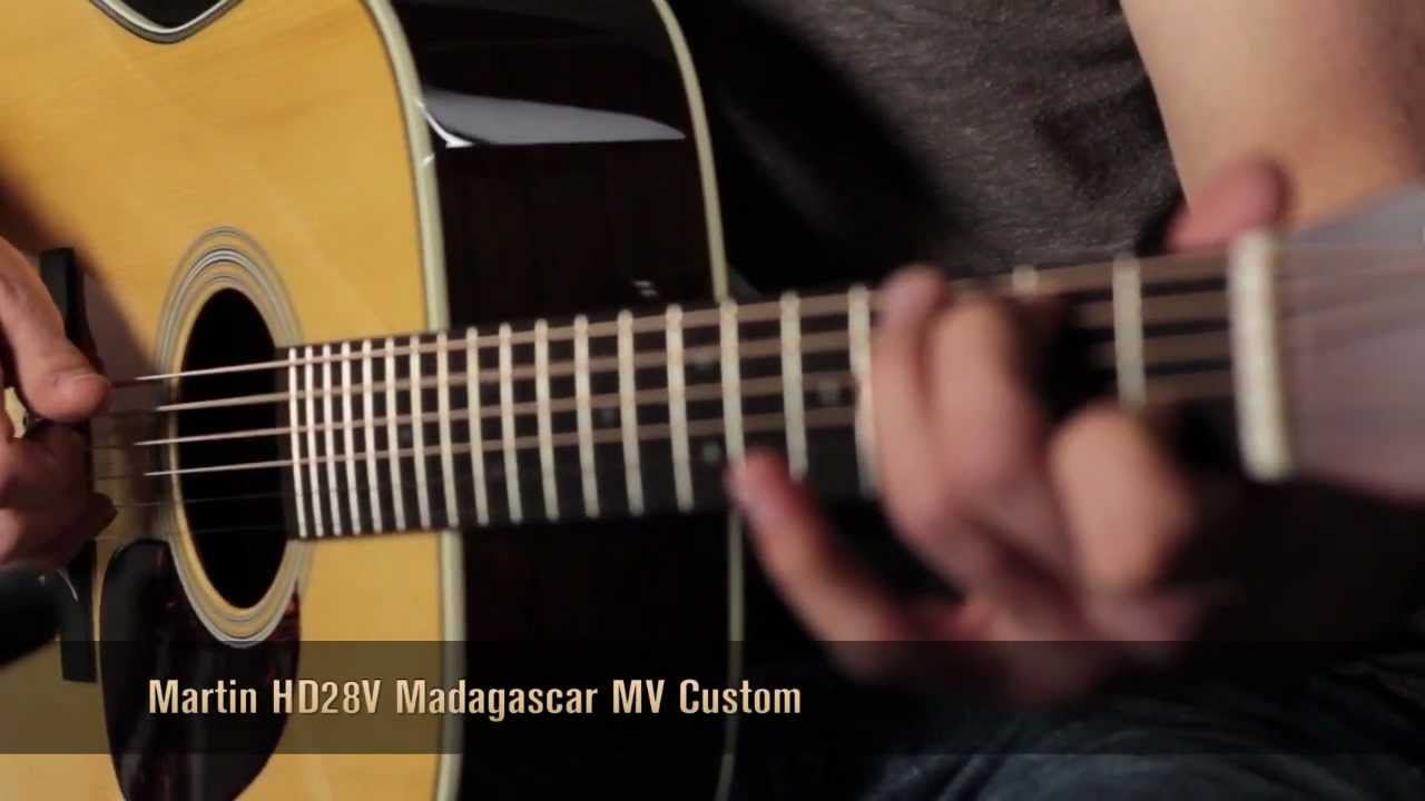 Martin Hd28v Custom Review How Does It Sound Youtube
