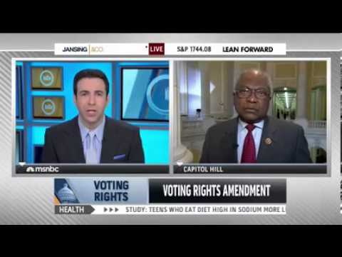 Clyburn interview with MSNBC Ari Melber on Feb 5, 2014