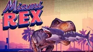 MIAMI REX | GAME LEVEL 1-5 | DINOSAUR | WALKTHROUGH