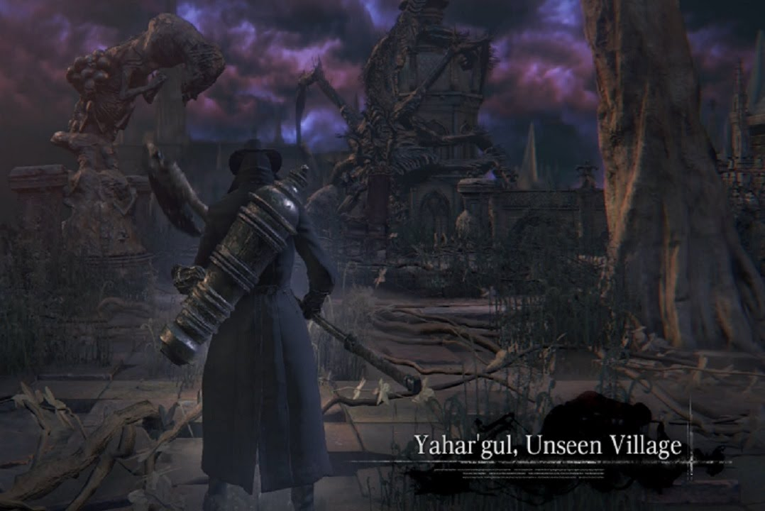 Bloodborne guide: How to get out of Yahar'gul, Unseen Village