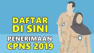 L NK PENDAFTARAN CPNS 2019