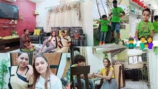 My first vlog,#Saturday vlog with family