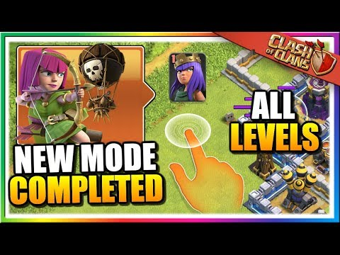 ALL Practice Levels COMPLETED In Clash Of Clans! NEW CoC Update Attacks And Gameplay!