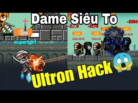 [MOBI ARMY 3] Chiến Boss 2 Toà Tháp Gặp Ultron Hack Kĩ Năng Cực Bá Đạo