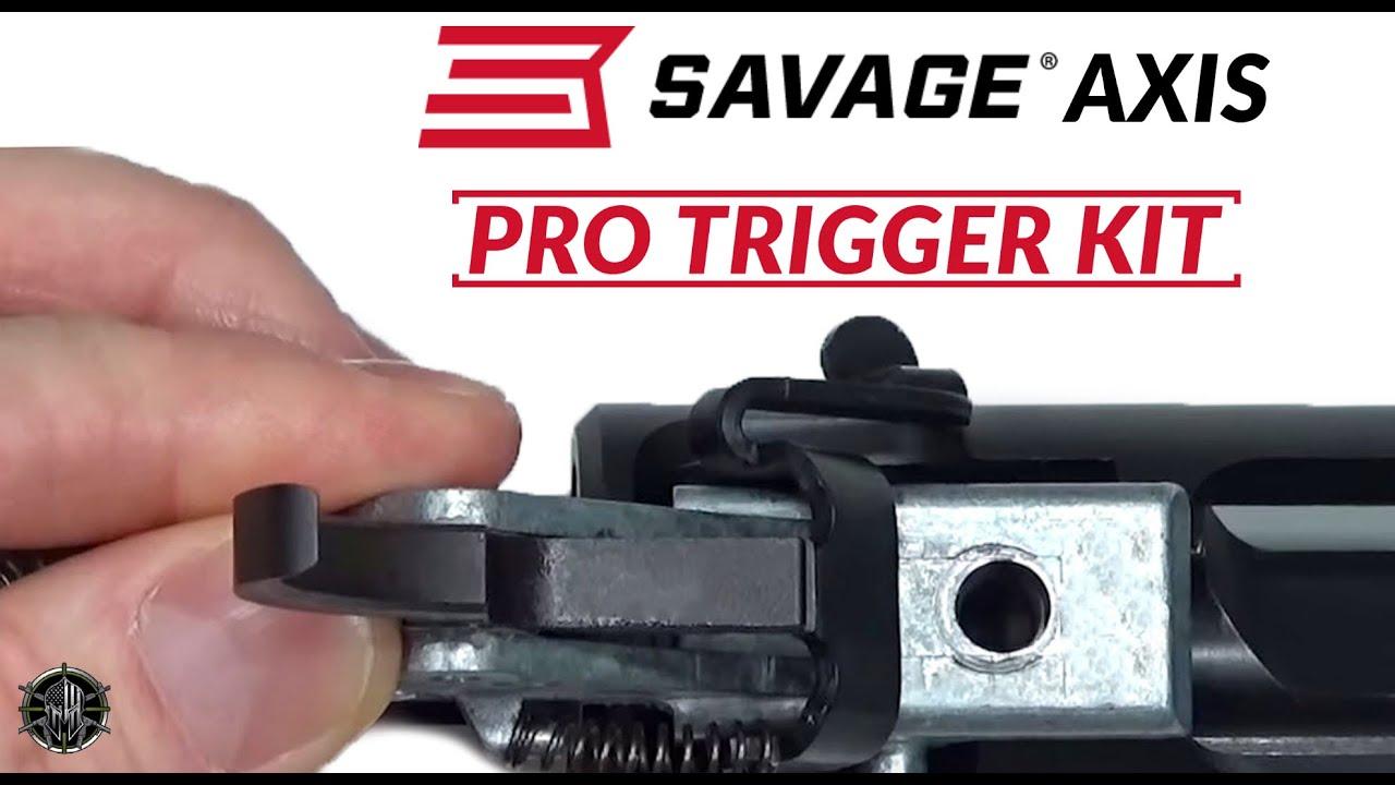Savage AXIS Pro Trigger Job Upgrade Kit - M*CARBO