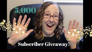 5,000 Abonnee Van De GiveAway! (DEADLINE JAN. 27,2017 Middernacht)