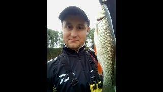 Искал окуня, а попался голавль. Рыбалка на малой реке МО. Вертушка выручалка.