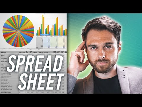 How to Track Passive Income - SPREADSHEET (Dividend Income)