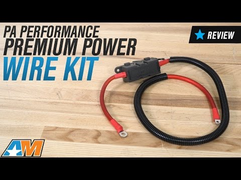 1994-2014 Mustang PA Performance Premium Power Wire Kit Review