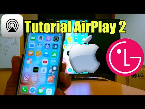 Tutorial AirPlay 2 (iphone, Ipad) On LG Smart TV (with English Subtitle)