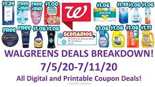 Walgreens Deals Breakdown 7/5/20-7/11/20! All Digital and Printable Coupon Deals!