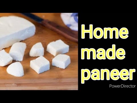 how to make paneer from spoiled milk at home