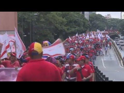 Miles se manifestaron en rechazo a la opción militar de EE.UU. en Venezuela