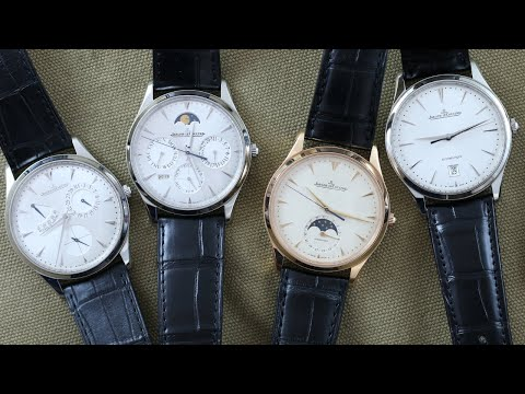 Jaeger‑LeCoultre Master Ultra Thin Collection Review (Ultra Thin Moonphase, Perpetual, Date & More)
