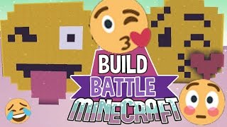 Emojis | Build Battle | Minecraft Building Minigame