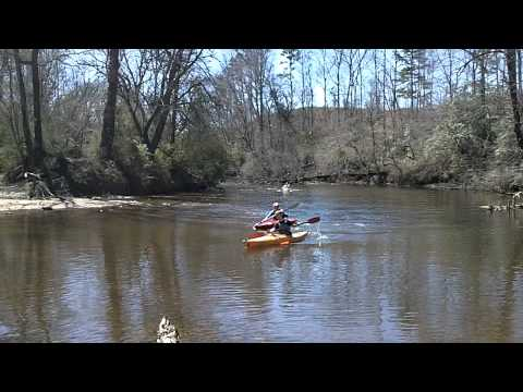 Charles Brady Paddle Challenge - Navigating Carter's Mill Ford