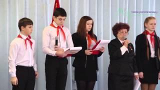 Урок мужества в День юного антифашиста прошел в Кингисеппе в школе № 2