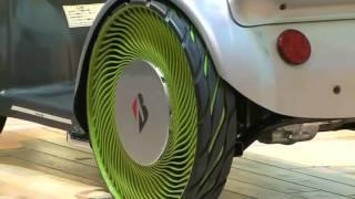 Шины Bridgestone Non-Pneumatic Tire Tokyo Motor Show 2011