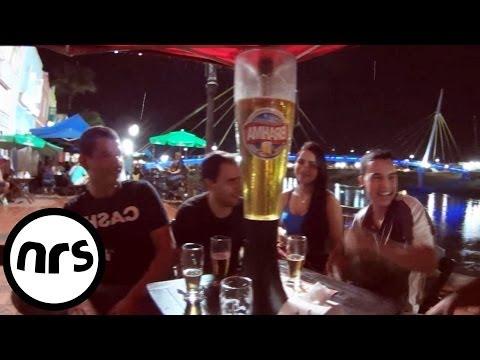 vlog188 - Local food and hitting a bar - Rio Branco, Brazil