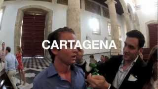 Travels to Cartagena Colombia for a Wedding