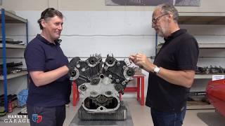 Lamborghini Espada V12 engine rebuild. Part 2, stripping the engine